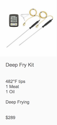 ThermaQ WiFi Deep Frying / Brewing Kit