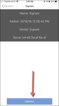 Signals Options