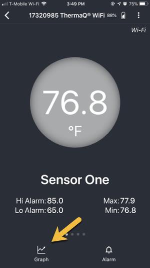 Sensor One Graph Link
