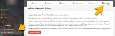Cloud Advanced Delete Account